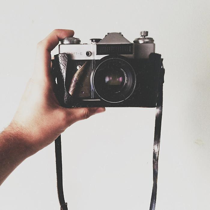 cámara retro, vintage camara, self portrait, autoretrato click