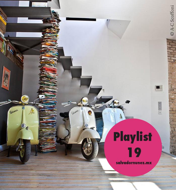 MOTOS, motonetas, motorcycle, books, libros, stairs, escaleras, music playlist, playlist