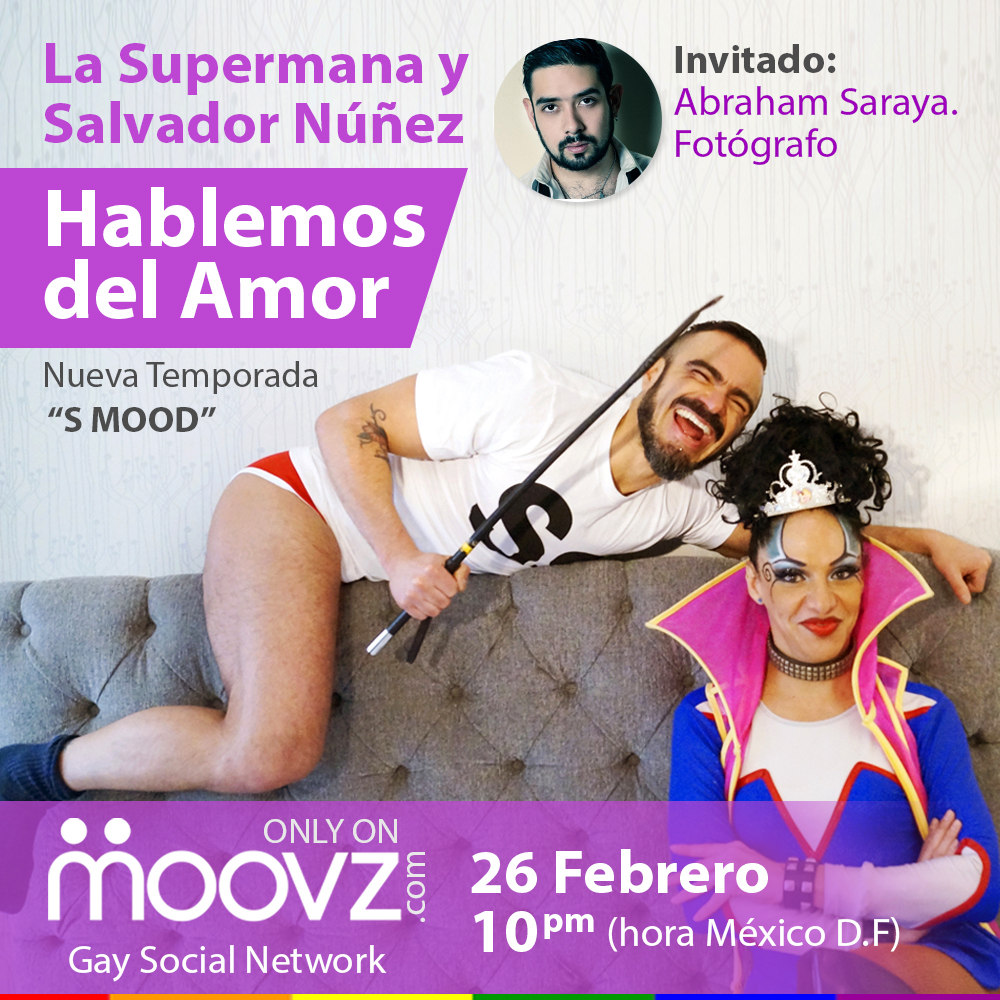 Supermana, Salvador Nunez, SMOOD, moovz, gay, vlog, vlogger,