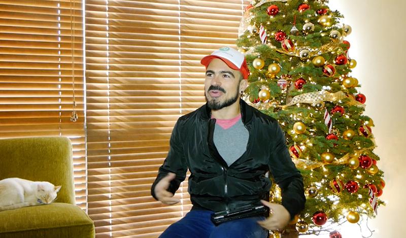 Salvador Nunez, Videoblog