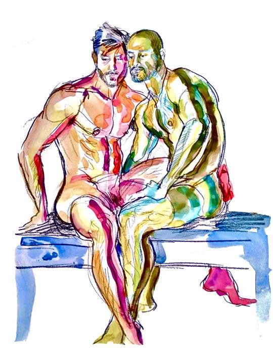 Miguel Angel Reyes, ilustrador homoerotico