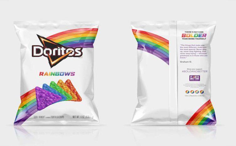 Rainbow Doritos, Doritos Arcoiris