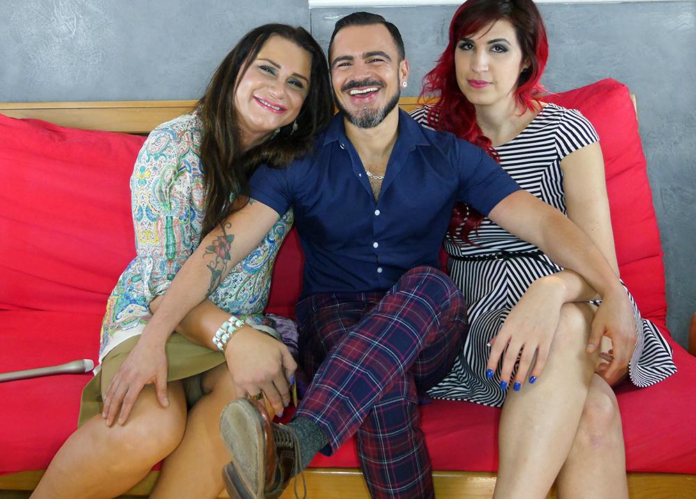 Enqueerados, Ophelia Pastrana, Gislenne Zamayoa, Salvador Nunez