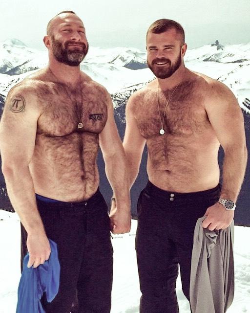 pareja gay osos