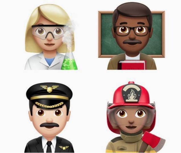 Nuevos emojis iOS 10.2