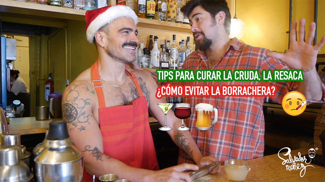 tips para curar la cruda y mala borrachera, alcohol