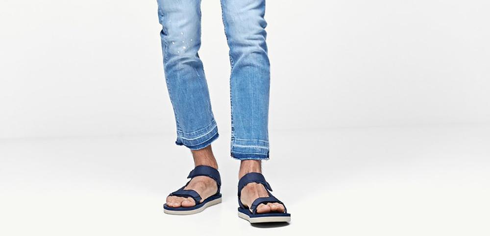 sandalias y zapatos para el calor