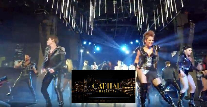 capital masaryk, espectaculo musical en polanco