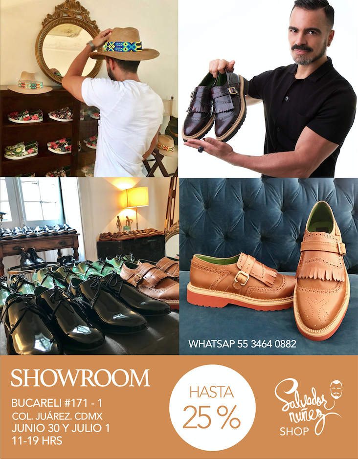 showroom descuentos zapatos y sombreros salvador nunez shop, salvador nunez footwear