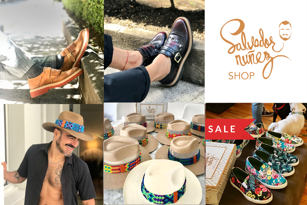 salvador nunez shop, zapatos sombreros, tenis