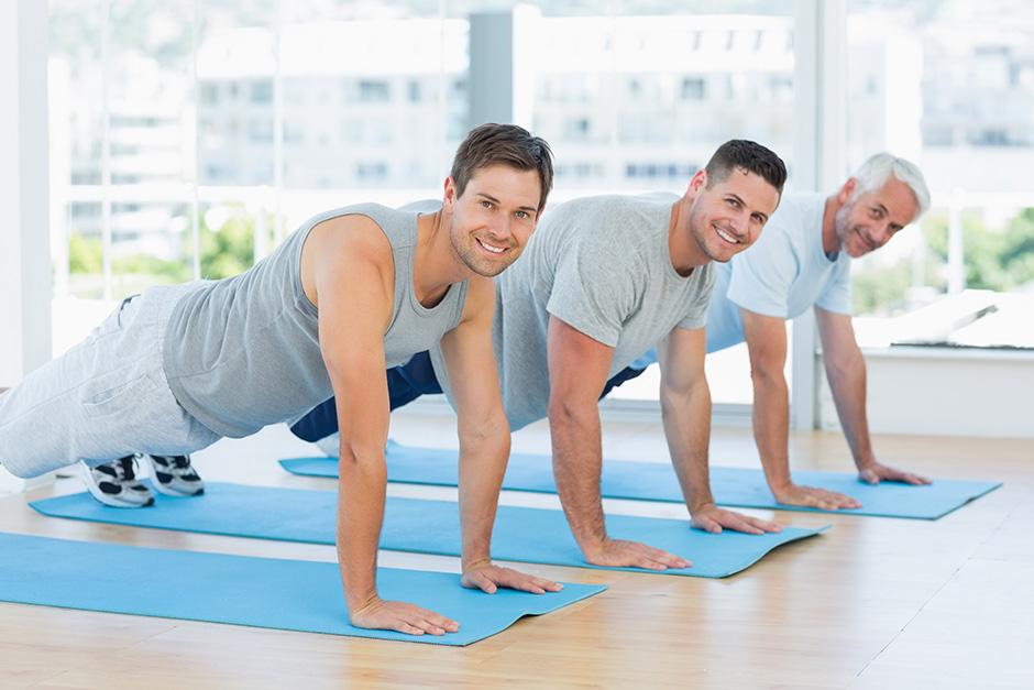 salud de hombres treintones, cuarentones, cincuentones, sesentones