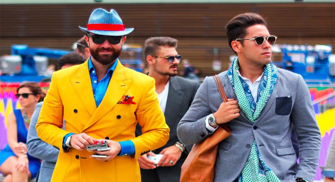 moda masculina, diferentes looks